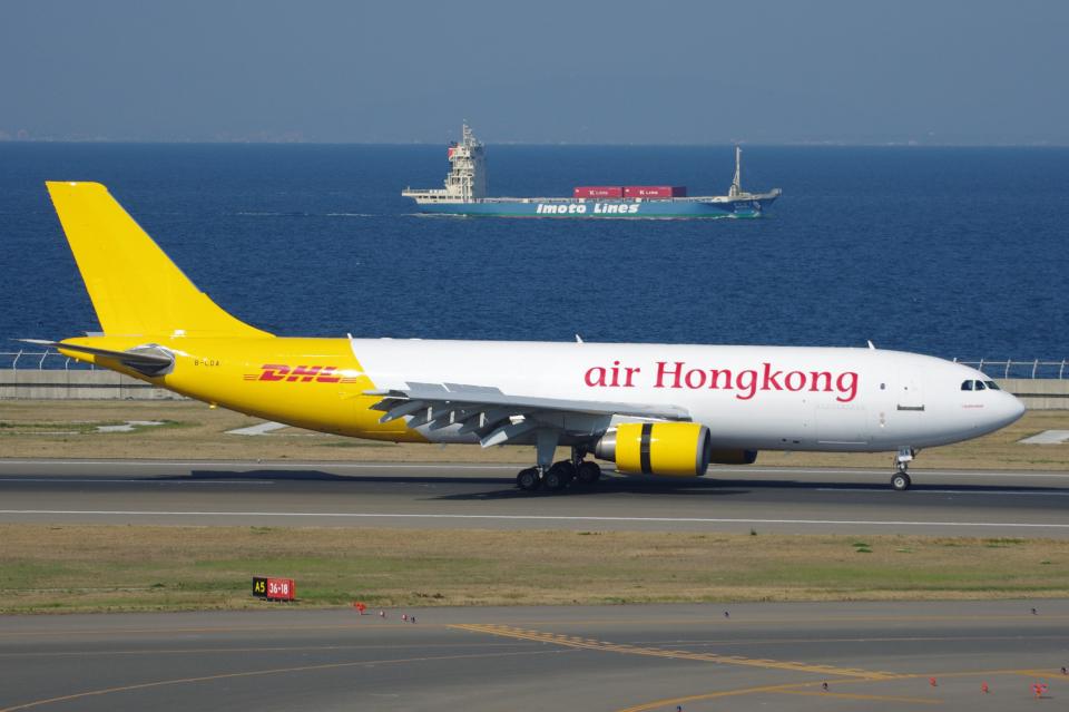 yabyanさんのエアー・ホンコン Airbus A300-600 (B-LDA) 航空フォト