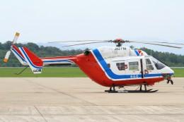 デデゴンさんが、石見空港で撮影した山口県消防防災航空隊 BK117C-1の航空フォト(飛行機 写真・画像)