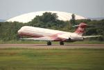 ケロさんが、秋田空港で撮影した遠東航空 MD-83 (DC-9-83)の航空フォト(飛行機 写真・画像)
