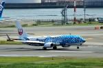 pikazouさんが、羽田空港で撮影した日本トランスオーシャン航空 737-8Q3の航空フォト(飛行機 写真・画像)