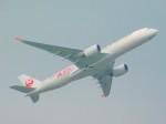 もっちゃこさんが、成田国際空港で撮影した日本航空 A350-941XWBの航空フォト(飛行機 写真・画像)