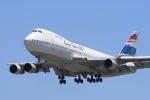 welderさんが、福岡空港で撮影したオリエント・タイ航空 747-146の航空フォト(写真)