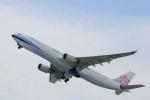 どんちんさんが、関西国際空港で撮影したチャイナエアライン A330-302の航空フォト(写真)