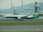 kiyohsさんが、香港国際空港で撮影したエバー航空 A321-211の航空フォト(飛行機 写真・画像)
