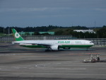 kiyohsさんが、成田国際空港で撮影したエバー航空 777-35E/ERの航空フォト(飛行機 写真・画像)