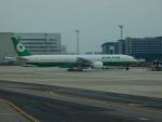 kiyohsさんが、台湾桃園国際空港で撮影したエバー航空 777-35E/ERの航空フォト(飛行機 写真・画像)