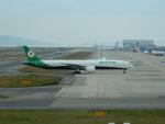 kiyohsさんが、関西国際空港で撮影したエバー航空 777-35E/ERの航空フォト(飛行機 写真・画像)