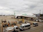kiyohsさんが、成田国際空港で撮影したエバー航空 777-36N/ERの航空フォト(飛行機 写真・画像)