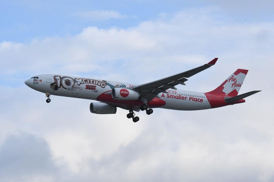 kuro2059さんのエアアジア・エックス Airbus A330-300 (9M-XXF) 航空フォト