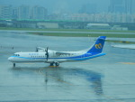 kiyohsさんが、台北松山空港で撮影したマンダリン航空 ATR-72-600の航空フォト(飛行機 写真・画像)