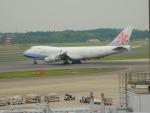 kiyohsさんが、成田国際空港で撮影したチャイナエアライン 747-409F/SCDの航空フォト(写真)