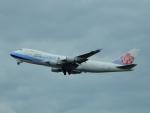 kiyohsさんが、関西国際空港で撮影したチャイナエアライン 747-409F/SCDの航空フォト(写真)
