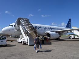 maixxさんが、ヴェラナ国際空港で撮影したスリランカ航空 A320-232の航空フォト(飛行機 写真・画像)