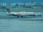 kiyohsさんが、台北松山空港で撮影した遠東航空 MD-83 (DC-9-83)の航空フォト(飛行機 写真・画像)