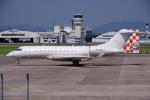 yabyanさんが、名古屋飛行場で撮影したカタール・エグゼクティブ BD-700-1A11 Global 5000の航空フォト(写真)