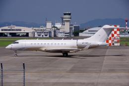 yabyanさんが、名古屋飛行場で撮影したカタール・エグゼクティブ BD-700-1A11 Global 5000の航空フォト(飛行機 写真・画像)