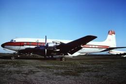 tassさんが、フェニックス・スカイハーバー国際空港で撮影したT & G Aviation DC-7Bの航空フォト(飛行機 写真・画像)