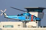 Kuuさんが、鹿児島空港で撮影した鹿児島県警察 AW139の航空フォト(写真)