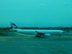 kiyohsさんが、台湾桃園国際空港で撮影したキャセイパシフィック航空 A330-343Xの航空フォト(写真)