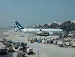 kiyohsさんが、香港国際空港で撮影したキャセイパシフィック航空 A350-941XWBの航空フォト(写真)