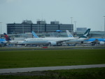 kiyohsさんが、アムステルダム・スキポール国際空港で撮影したキャセイパシフィック航空 A350-1041の航空フォト(写真)