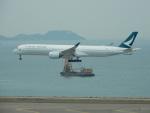 kiyohsさんが、香港国際空港で撮影したキャセイパシフィック航空 A350-1041の航空フォト(写真)