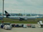 kiyohsさんが、フランクフルト国際空港で撮影したカーゴジェット・エアウェイズ 767-35E/ER(BCF)の航空フォト(写真)