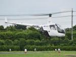 とびたさんが、栃木ヘリポートで撮影した日本フライトセーフティ R22 Beta IIの航空フォト(写真)