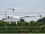 とびたさんが、栃木ヘリポートで撮影した日本個人所有 R44の航空フォト(写真)