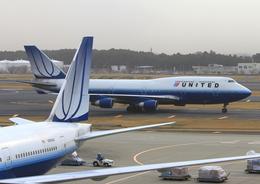 ふじいあきらさんが、成田国際空港で撮影したユナイテッド航空 747-422の航空フォト(飛行機 写真・画像)