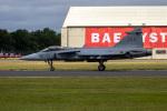 チャッピー・シミズさんが、フェアフォード空軍基地で撮影したスウェーデン空軍 JAS39 GRIPENの航空フォト(写真)