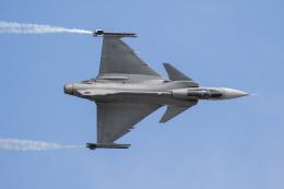 チャッピー・シミズさんが、フェアフォード空軍基地で撮影したスウェーデン空軍 JAS39 GRIPENの航空フォト(飛行機 写真・画像)