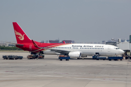 xingyeさんが、瀋陽桃仙国際空港で撮影した昆明航空 737-8LYの航空フォト(飛行機 写真・画像)