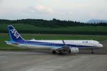 gomachanさんが、大館能代空港で撮影した全日空 A321-272Nの航空フォト(写真)