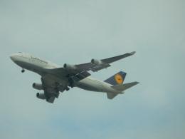kiyohsさんが、シアトル タコマ国際空港で撮影したルフトハンザドイツ航空 747-430の航空フォト(飛行機 写真・画像)