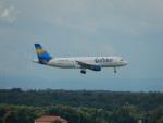 kiyohsさんが、フランクフルト国際空港で撮影したコンドル A320-212の航空フォト(飛行機 写真・画像)