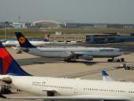 kiyohsさんが、フランクフルト国際空港で撮影したルフトハンザドイツ航空 A340-313Xの航空フォト(写真)