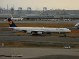 kiyohsさんが、羽田空港で撮影したルフトハンザドイツ航空 A340-642の航空フォト(飛行機 写真・画像)
