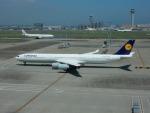 kiyohsさんが、羽田空港で撮影したルフトハンザドイツ航空 A340-642の航空フォト(写真)