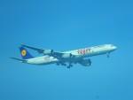 kiyohsさんが、上海浦東国際空港で撮影したルフトハンザドイツ航空 A340-642の航空フォト(写真)