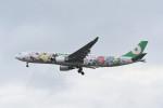 kuro2059さんが、台湾桃園国際空港で撮影したエバー航空 A330-302Xの航空フォト(飛行機 写真・画像)