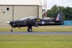 チャッピー・シミズさんが、フェアフォード空軍基地で撮影したイギリス空軍 S-312 Tucano T1の航空フォト(写真)