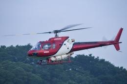 筑波のヘリ撮りさんが、真壁滑空場で撮影したエス・ジー・シー佐賀航空 AS350B Ecureuilの航空フォト(飛行機 写真・画像)