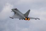 チャッピー・シミズさんが、フェアフォード空軍基地で撮影したイタリア空軍 EF-2000 Typhoonの航空フォト(写真)