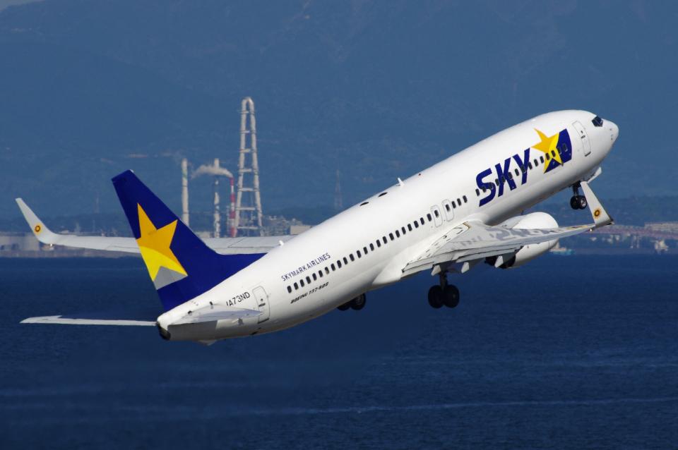 yabyanさんのスカイマーク Boeing 737-800 (JA73ND) 航空フォト