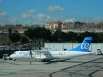 kiyohsさんが、マドリード・バラハス国際空港で撮影したスウィフトエア ATR-72-500 (ATR-72-212A)の航空フォト(飛行機 写真・画像)