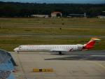 kiyohsさんが、フランクフルト国際空港で撮影したエア・ノーストラム CL-600-2E25 Regional Jet CRJ-1000の航空フォト(飛行機 写真・画像)