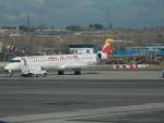 kiyohsさんが、マドリード・バラハス国際空港で撮影したエア・ノーストラム CL-600-2E25 Regional Jet CRJ-1000の航空フォト(飛行機 写真・画像)