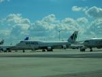 kiyohsさんが、マドリード・バラハス国際空港で撮影したワモス・エア 747-4H6の航空フォト(飛行機 写真・画像)
