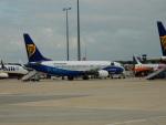 kiyohsさんが、フランクフルト国際空港で撮影したライアンエア 737-8ASの航空フォト(飛行機 写真・画像)